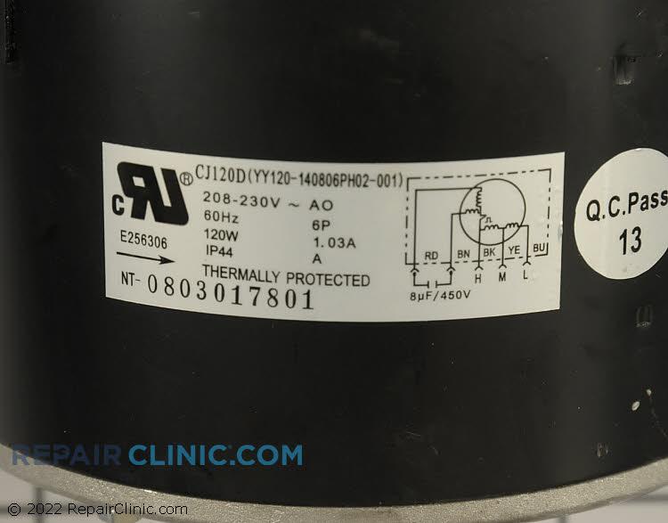 Fan Motor 5304465389 Alternate Product View