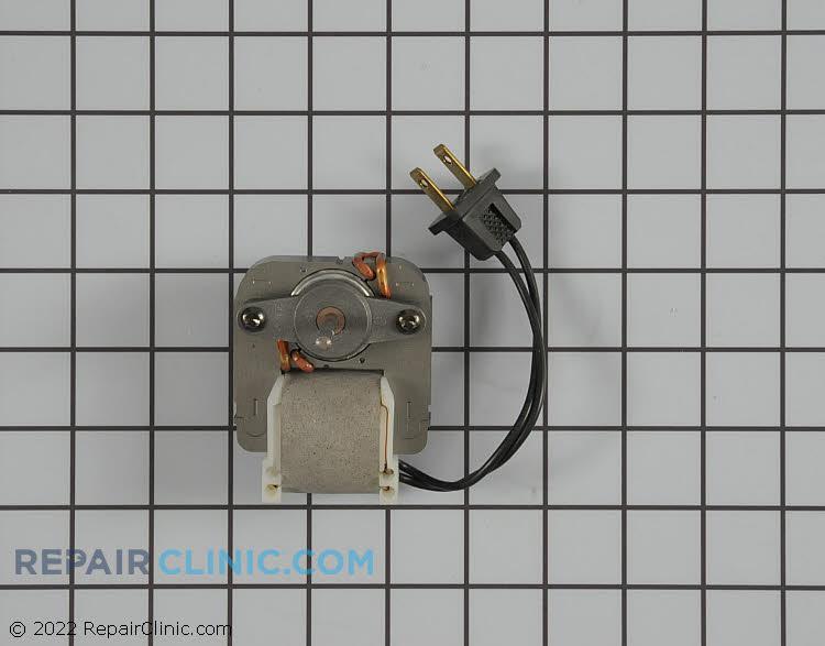 Fan motor with power cord