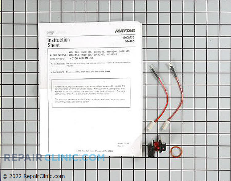 Pump and Motor Assembly 6-914985 Alternate Product View