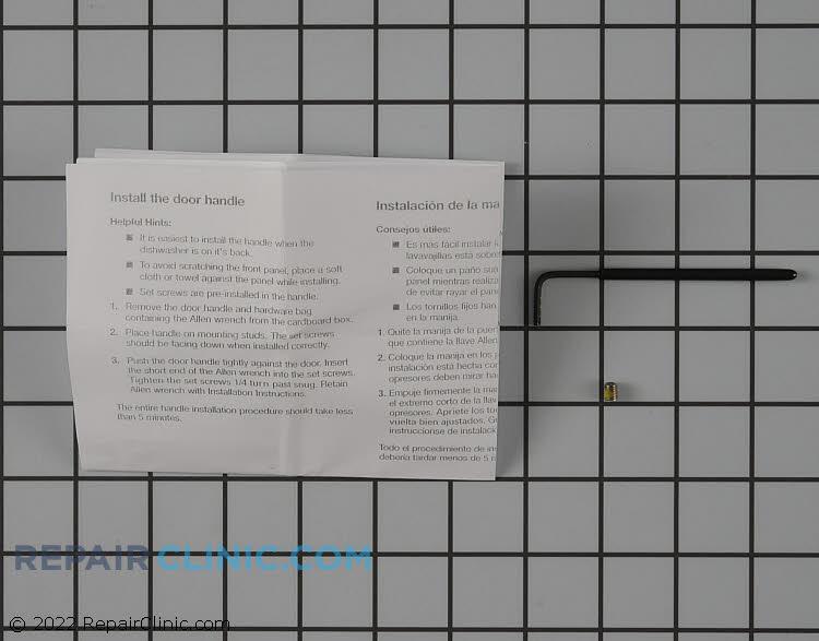 Door Handle W10143000 Alternate Product View