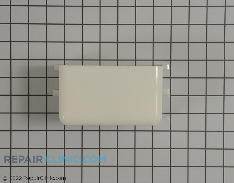 Range vent hood light cover (lens) assembly.