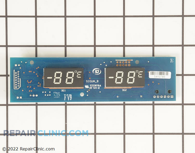 User Control and Display Board 240596704       Alternate Product View