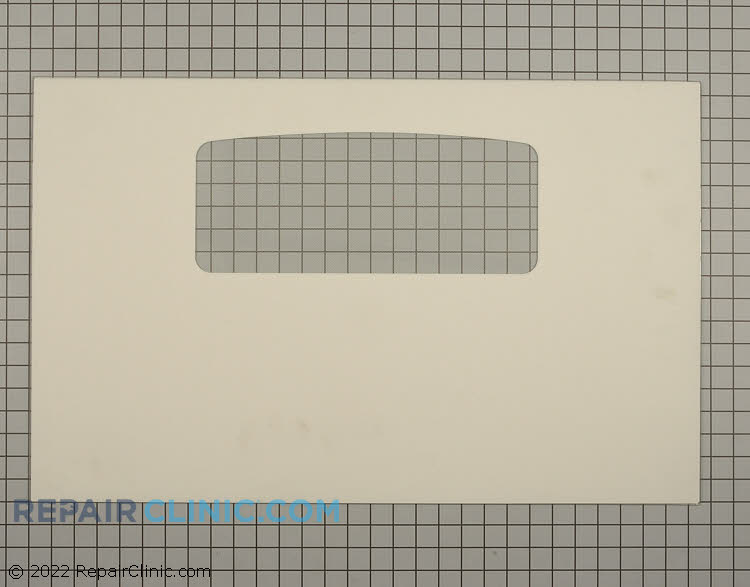 Outer Door Glass WB57K10120      Alternate Product View
