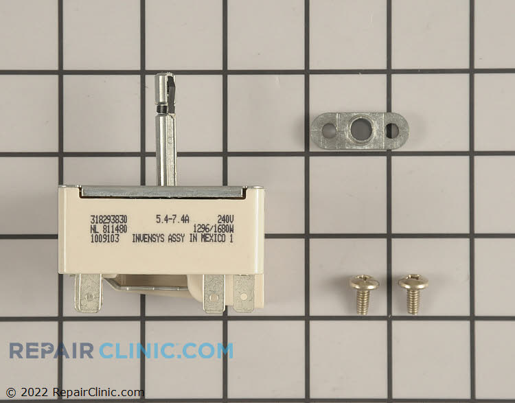 Surface element control switch, 6 inch element