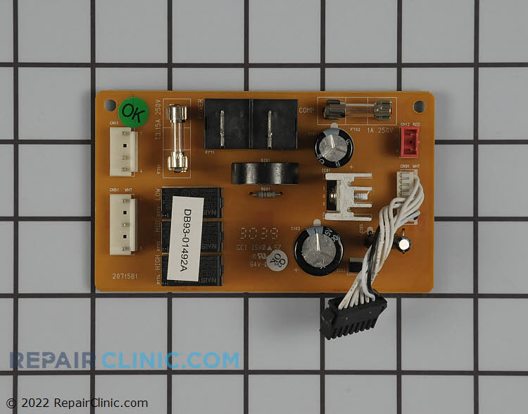 Power Supply Board DB93-01493A Alternate Product View