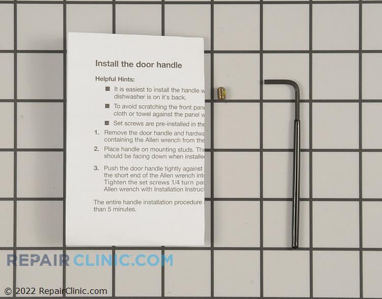 Door Handle W10083931A Alternate Product View