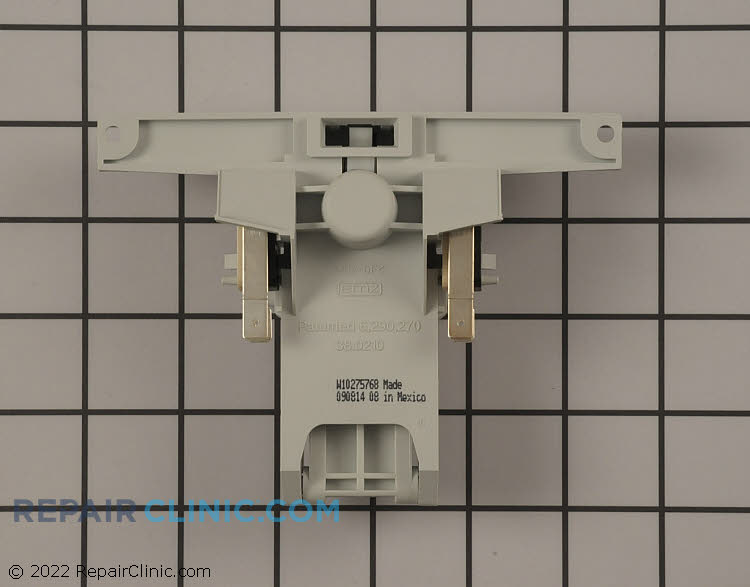Door latch and switches without handle. For handle see Related Items.