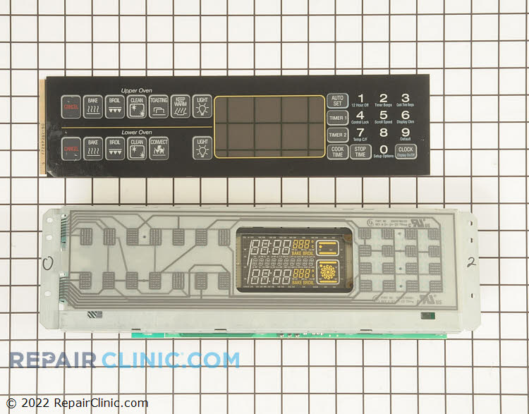 Oven Control Board WP5701M406-60 Alternate Product View