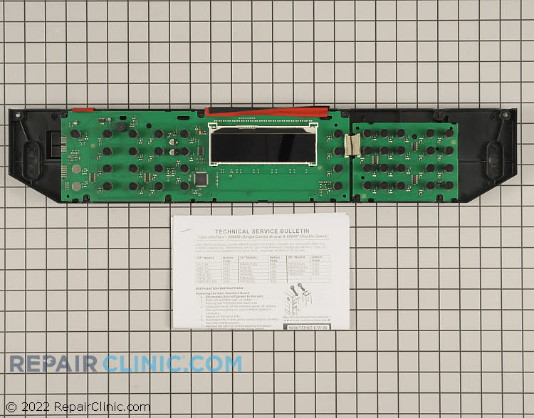 Touchpad and Control Panel 00702534 Alternate Product View