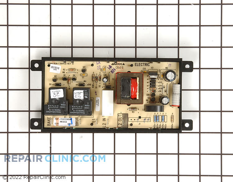 Oven Control Board 316455440 Alternate Product View