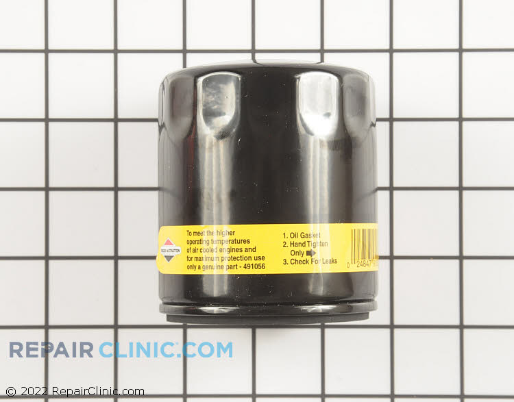 Briggs & Stratton Original Equipment 491056 Oil Filter.