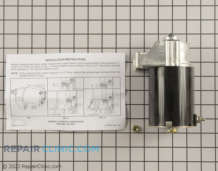 Electric Starter 497596          Alternate Product View