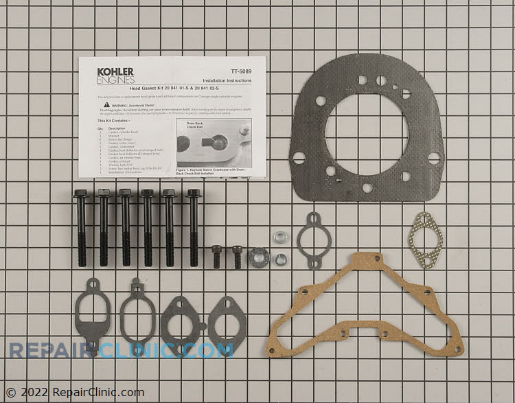 Cylinder Head Gasket Kit 20 841 01-S Alternate Product View