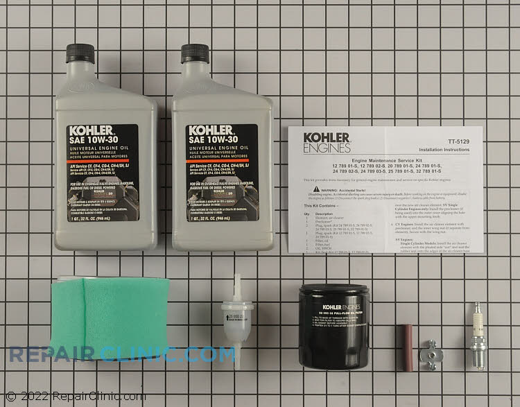 Tune-Up Kit 12 789 02-S Alternate Product View