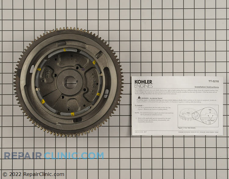 Flywheel 24 025 55-S Alternate Product View