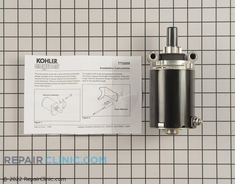 Electric Starter 25 098 07-S Alternate Product View