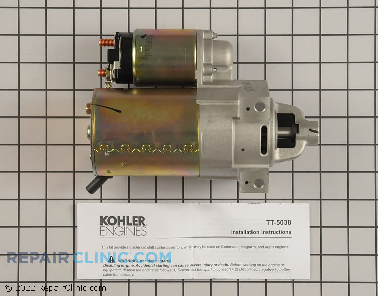 Electric Starter 25 098 21-S Alternate Product View