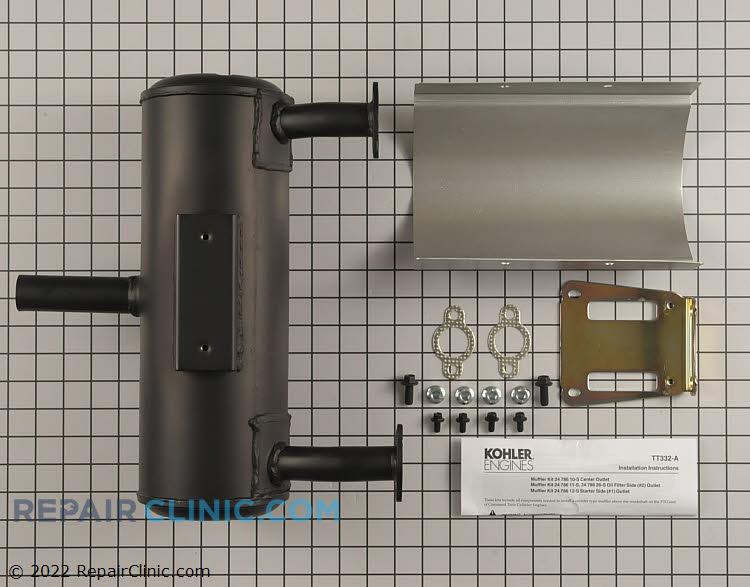 Muffler 24 786 10-S Alternate Product View