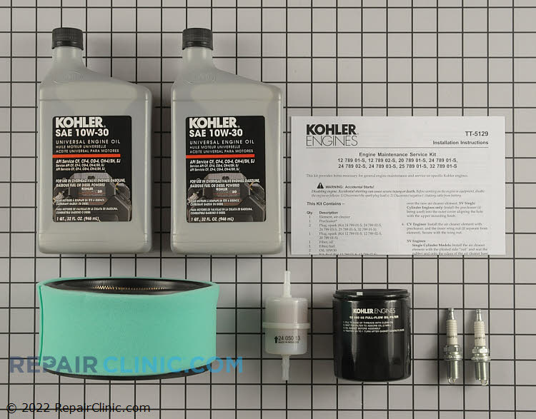 Tune-Up Kit 24 789 03-S Alternate Product View