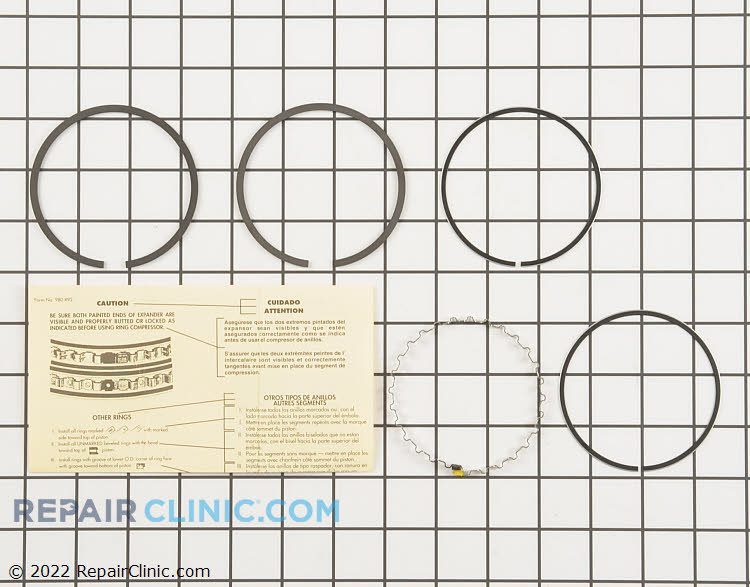 Piston Ring Set 52 108 09-S Alternate Product View