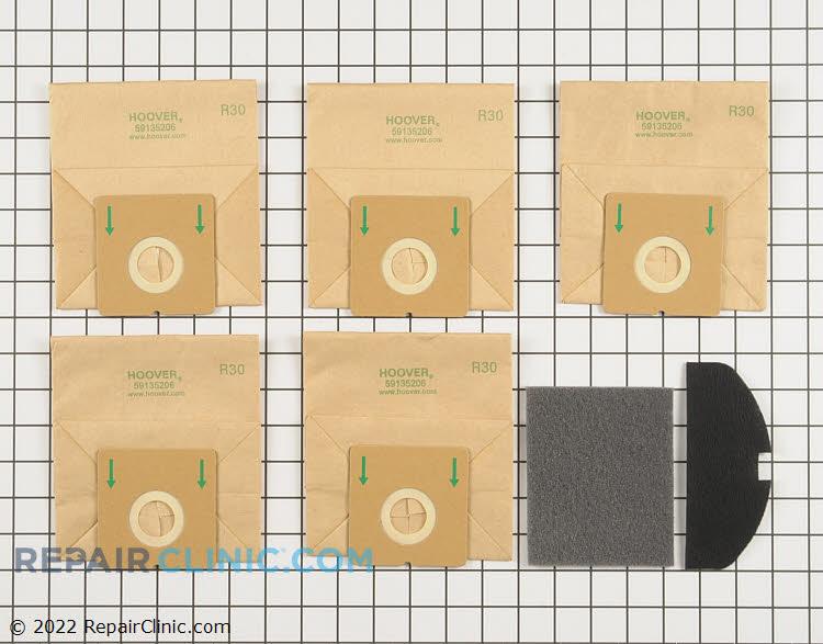 Vacuum Bag 40101002 Alternate Product View