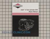 Repair Manual - Part # 1605381 Mfg Part # 273521