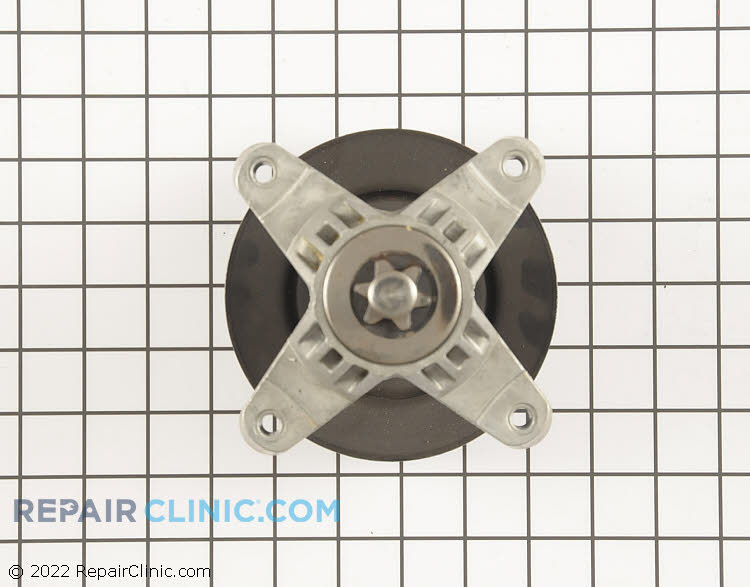 Spindle Assembly with Pulley 918-0138C Alternate Product View