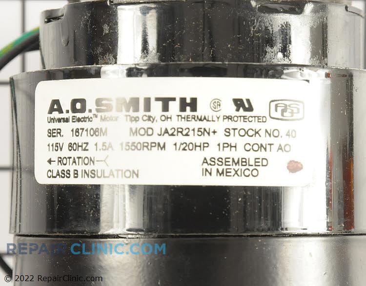 Fan Motor 40 Alternate Product View