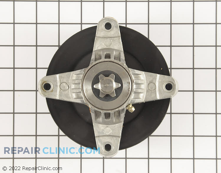 Spindle Assembly with Pulley 918-05016 Alternate Product View