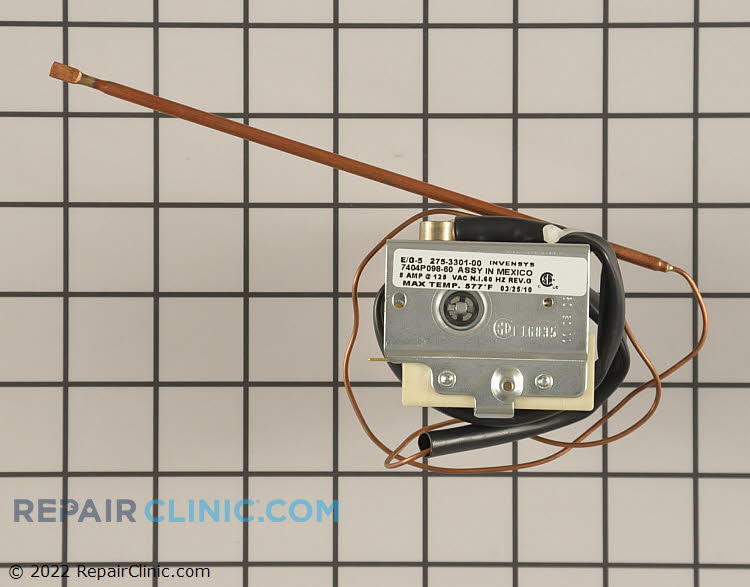Temperature Control Thermostat WP7404P098-60 Alternate Product View