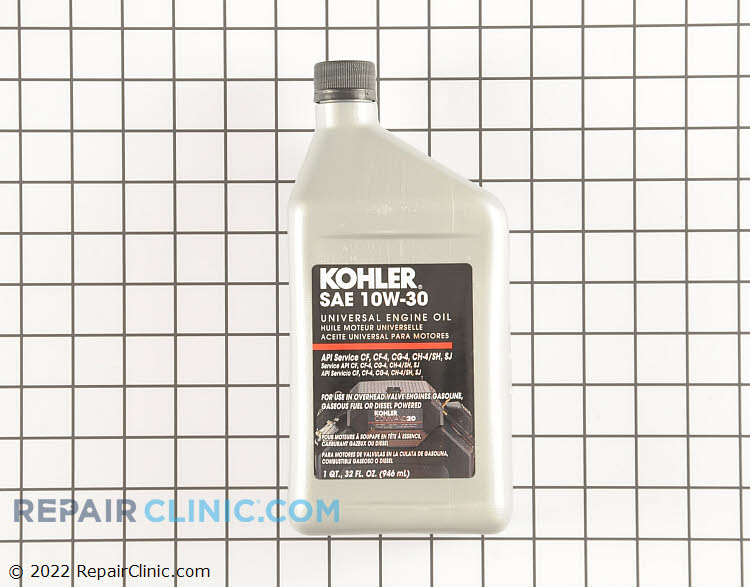 Kohler Original Equipment 25 357 06-S  Command 10W-30 Engine Oil (32 oz).