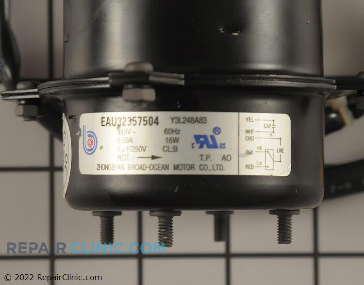Fan Motor EAU32357504     Alternate Product View