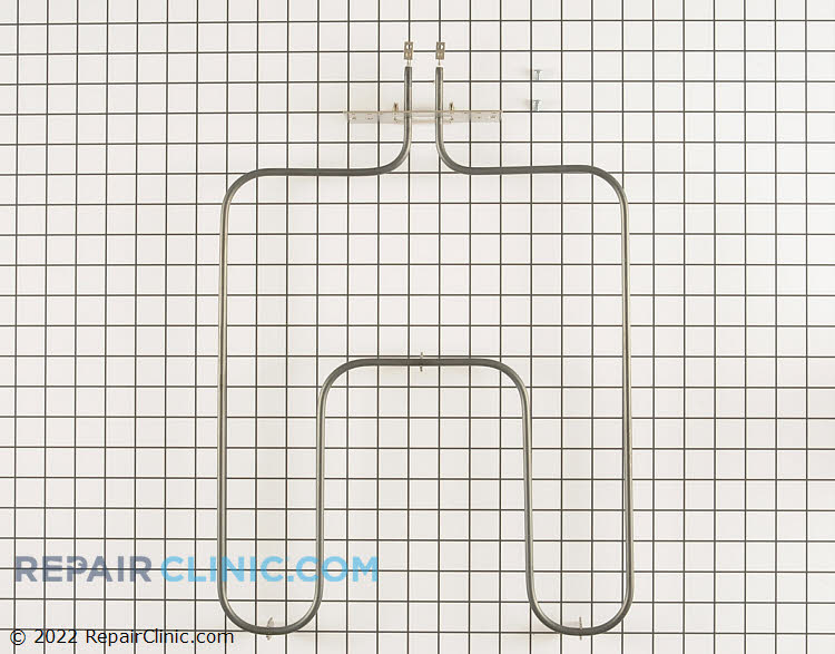 Oven bake element. 240 Volt 3100 Watt element with screw style connections. If the oven does not bake then the element could have burned out.