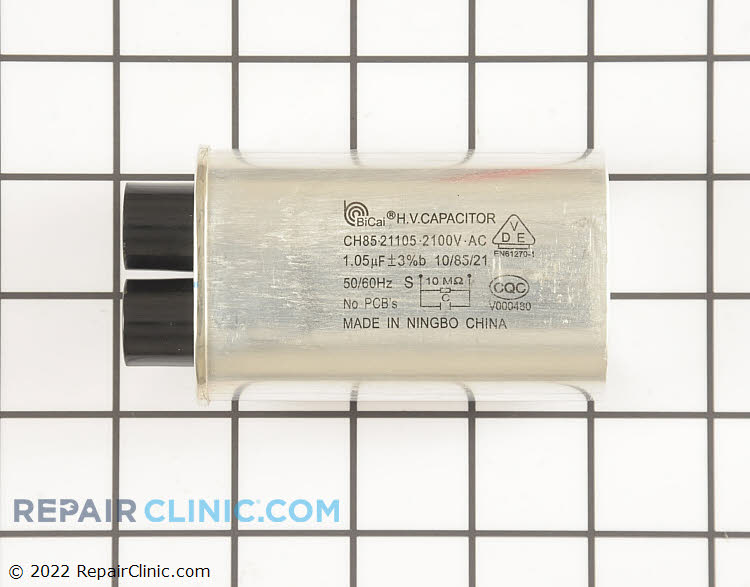 High Voltage Capacitor W10850446 Alternate Product View