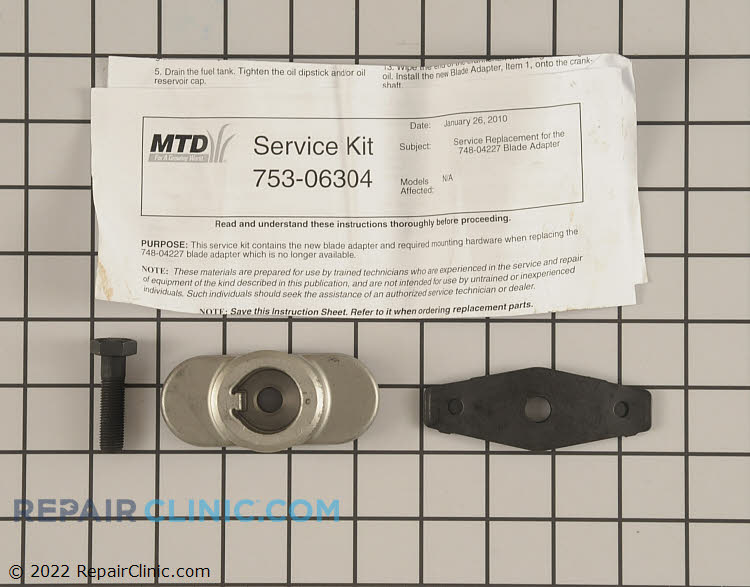 Blade Adapter 753-06304 Alternate Product View