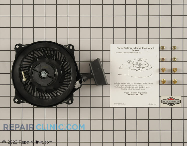 Recoil Starter 497830          Alternate Product View