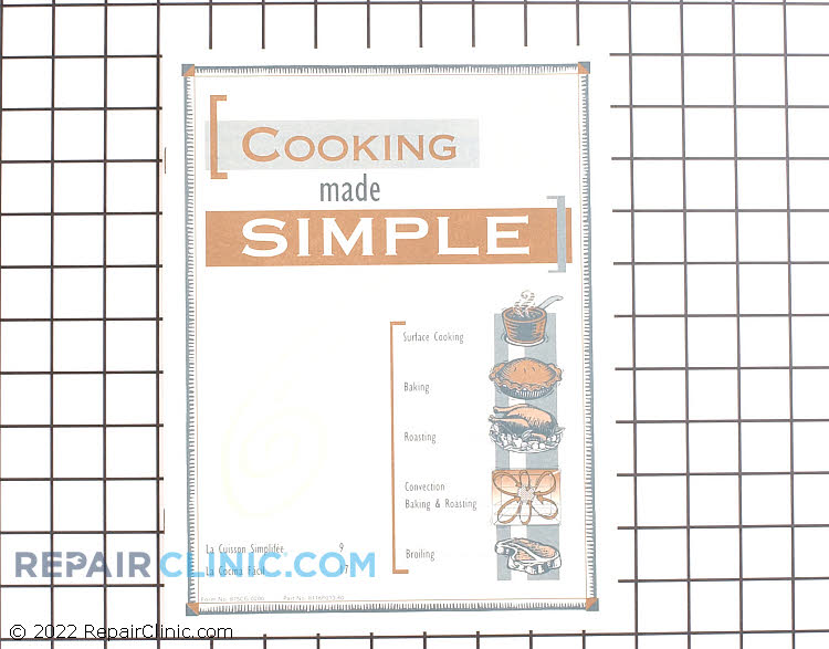 Cooking Guide 74007136        Alternate Product View