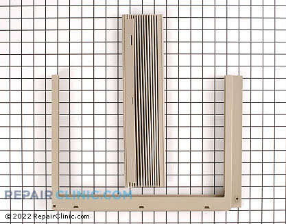 Window Side Curtain and Frame