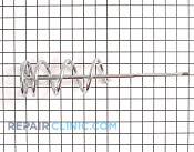 Ice Bucket Auger - Part # 295436 Mfg Part # WR17X4341