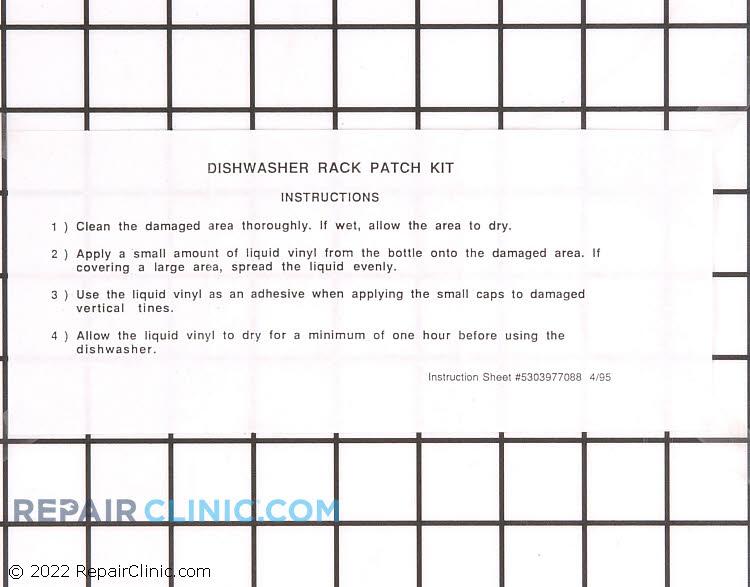 Rack Repair Kit or Paint 5303943121      Alternate Product View