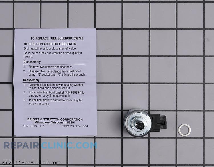 Fuel Shut-Off Solenoid 699728          Alternate Product View