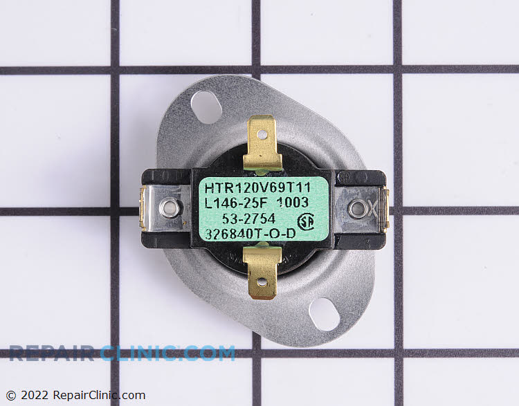Cycling Thermostat WP31001088 Alternate Product View