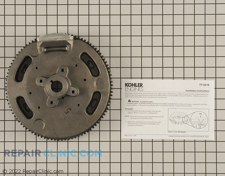 Flywheel 24 025 57-S Alternate Product View