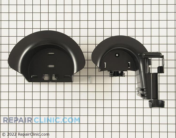 Hose rack assembly (includes hose rack, top rack, and bottom screws)