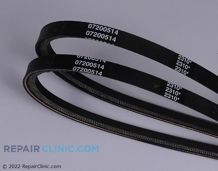 Ariens match set of 2 V-Belts. Used on Ariens 921 Series Deluxe Sno-Thro models.
