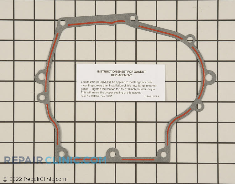 Gasket 37342           Alternate Product View