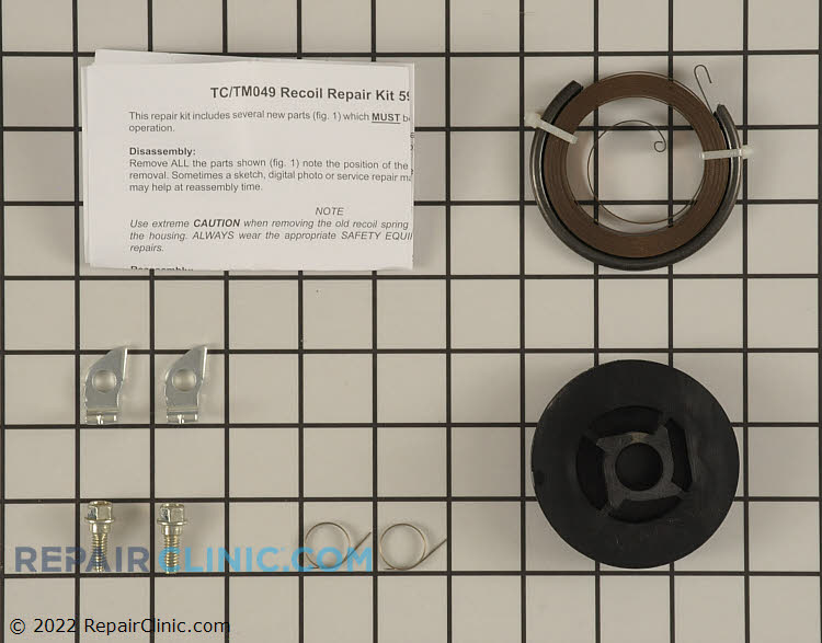 Rewind Pulley and Spring 590779          Alternate Product View
