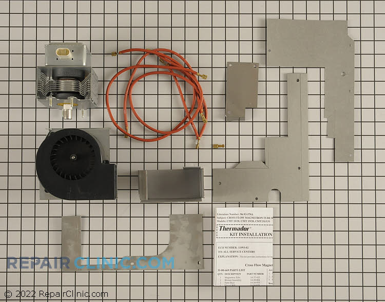 Magnetron 00486781 Alternate Product View