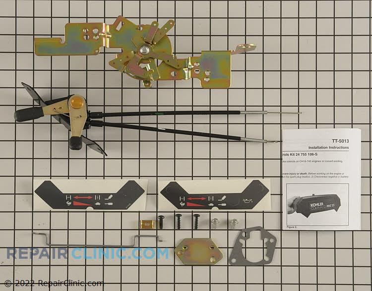 Kit, panel mount controls
