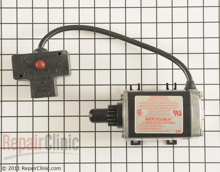 Electric Starter 33329F Alternate Product View